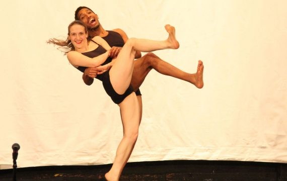 "International Performers Kierstyn Zaykoski and Edward Rosado perform with the Kaleidoscope Dance Theatre in Sean McLeod's acclaimed work ""Popeye"" an excerpt from ""Nursey Rhymes Suite""."